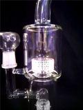 Pipes de fumage en verre de conduite d'eau en verre du tabac AA-72