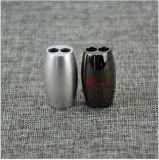 Piezas que trabajan a máquina del CNC de la alta precisión del fabricante del CNC con color anodizado rojo