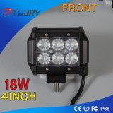 트럭 Offroad LED 일 빛을%s 차 Portable를 모는 자동 18W