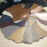 Cuir d'unité centrale de Microfiber de qualité pour les chaussures ou les sacs (HTS030)