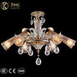 Indicatore luminoso a cristallo ambrato del lampadario a bracci di nuovo disegno