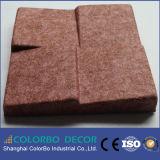 100% des couleurs personnalisées et Panneau de fibre de polyester Tailles acoustique