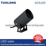 luz al aire libre redonda ligera conducida 3W IP65 de la pared