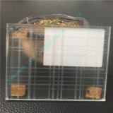 밝은 오렌지색 박판으로 만들어진 유리 또는 예술 유리 또는 전기 미러를 가진 유리제 장식적인 유리를 새기기