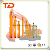 Cilindro do petróleo do conjunto do cilindro hidráulico do cilindro do crescimento de Doosan Dh130-5 para peças sobresselentes do cilindro da máquina escavadora da esteira rolante
