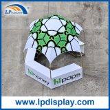 3X3mの表示ショーのための屋外の六角形のドームブースのテント