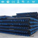 Tubos ondulados de parede dupla de HDPE para drenagem