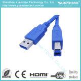 Mâle de la qualité USB2.0 d'USB 3.0 au câble usb mâle