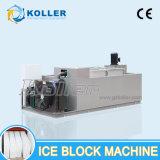 Macchina di cristallo del ghiaccio in pani per la scultura di ghiaccio da refrigerazione di Koller