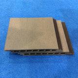 Placa ao ar livre do revestimento da manufatura WPC para o uso decorativo exterior
