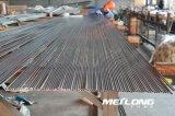 Linha hidráulica sem emenda câmara de ar de aço inoxidável da precisão de TP304L