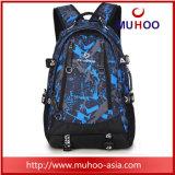 Le Duffle noir imperméable à l'eau portent le sac de sports de sacs à dos de course de sac pour extérieur