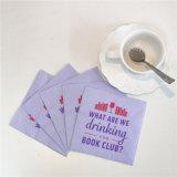 Servilleta de papel 25*25cm/2ply del mejor regalo