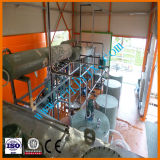 Máquina usada da destilação da Re-Refinação do petróleo do preto do petróleo de motor