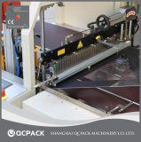 Macchina laterale di imballaggio con involucro termocontrattile di sigillamento