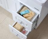 Floor-Mounted現代カシ木衛生製品の浴室の虚栄心のキャビネット