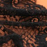 90/10 Polyesterspandex-afrikanische weiße Ausdehnungs-Wäsche-Spitze