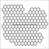 Het hexagonale Sterkte Aangepaste Opleveren Met grote trekspanning van het Lassen voor Kip/Gevogelte