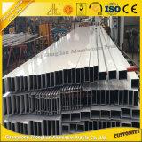 6000series vendent la pipe ronde en aluminium de tube carré en aluminium