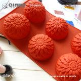 QinuoのFDAは食品等級の物質的なシリコーンのケーキ型を証明する