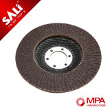 Disco abrasivo de pulido de la solapa del óxido de aluminio del moho del metal de la alta calidad