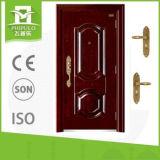 Puerta de acero modificada para requisitos particulares fábrica de la seguridad con solo diseño de la puerta de Zhejiang