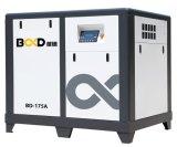 compresor de aire rotatorio eléctrico industrial del tornillo de la velocidad fija de 175HP 132kw 8bar