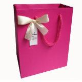 Caixa de papel colorida Handmade do portador da compra do OEM