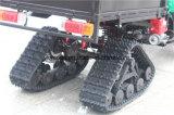 4 눈 타이어를 가진 맨 위 램프 모터 ATV
