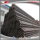 Precio soldado Sch40 del tubo de acero de carbón de ERW