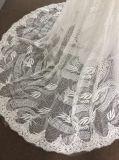Venda superior/vestido de casamento na moda da sereia com laço original