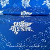 100%Polyester imprimiu/tela impermeável gravado 63GSM da cortina de chuveiro