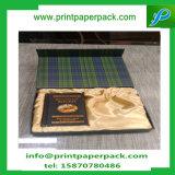 Изготовленный на заказ роскошь выбивая коробку подарка коробки складного картона упаковывая с вставкой пены