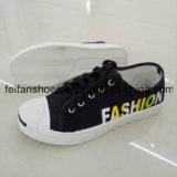 Самые новые Unisex ботинки впрыски холстины, поставщик обуви Китая вскользь (FFZL1102-01)
