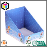 Stackable коробка индикации шипучки Corrugated картона b каннелюру белизны