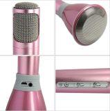 Микрофон конденсатора Bluetooth портативного миниого профессионального Karaoke беспроволочный