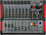 Especial Nuevo Diseño Powered Mixer Mini8p Series Amplificador Profesional