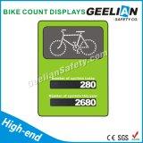 Avis de vélo en couleur blanc en aluminium Signaux de stationnement routier
