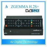 강력한 기능 Zgemma H2. 인공위성 또는 케이블 수신기 리눅스 OS E2 DVB-S2+DVB-S2/S2X/T2/C 3 조율사 플러스 S