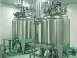 El tanque de la preparación para la solución gruesa