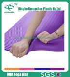 2017 le couvre-tapis de yoga du sport NBR de couvre-tapis de yoga le plus neuf des graines en travers NBR