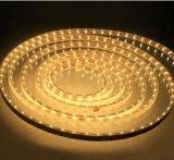 Striscia chiara flessibile multipla bianca/bianca di RGB+Warm di colore LED