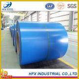Bobina de aço galvanizada revestida de aço da cor azul