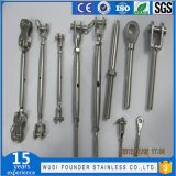 Tenditore a vite del corpo del tubo dell'acciaio inossidabile Ss316