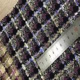 Проверенная ткань одежды из твида для одеяния, одежд