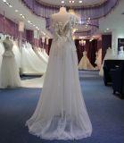 Neues Hochzeits-Kleid 2017 der Ankunfts-S plus Größe