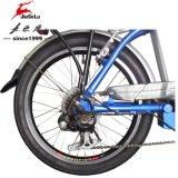 """20의 """" En15194 (JSL039Z-1)를 가진 파란 시리즈 리튬 건전지 접히는 자전거"""