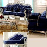 Sofá de madera de la tela para los muebles de la sala de estar (929O)