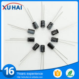 1000UF/25V 10*20 L=3.5mm elektrolytischer Aluminiumkondensator