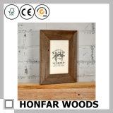 Frame de retrato Desktop antigo da madeira contínua da decoração